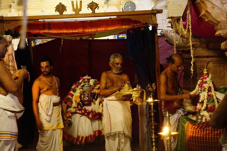 Nammalvar Mohini Alankara. Avani Festival. Tirukkolur
