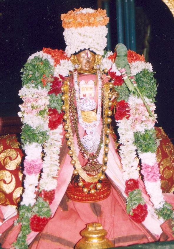 Andal in Srivilliputtur. Muttukkuri.